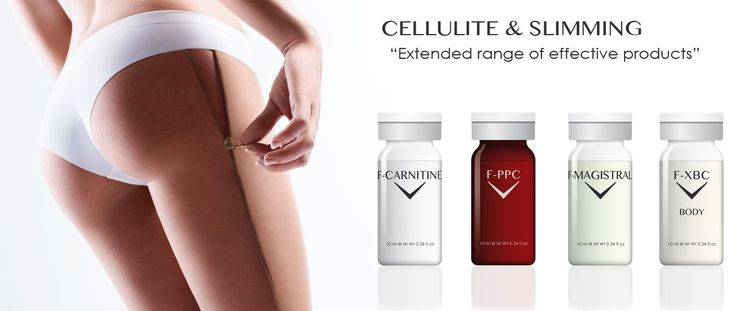 Cellulite and slimming mesotherapy