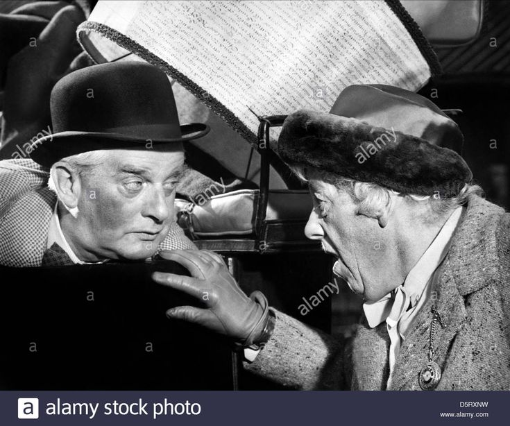 STRINGER DAVIS & MARGARET RUTHERFORD IN MURDER MOST FOUL (1964)