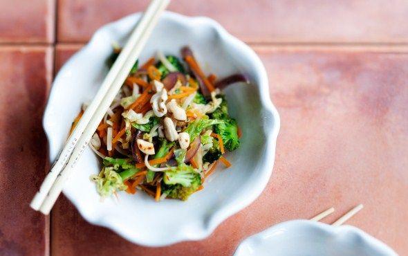Tofu-kasviswok, resepti!