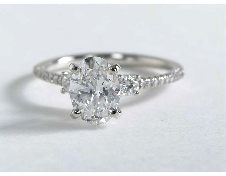 Wedding Ring Trio 3 Great Vintage engagement rings blue