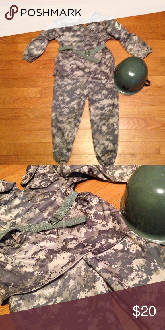 Army Costume EUC Costumes Halloween
