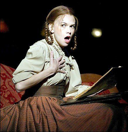 Sutton Foster. Astonishing.