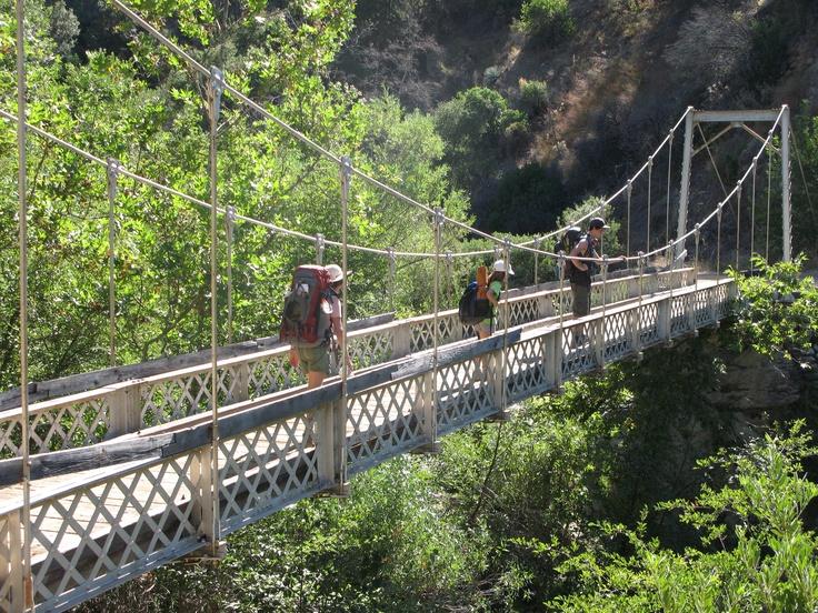 Horse Bridge Marble Peak Trail Ventana Wilderness