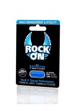 Rock On is a Natural Male Enhancement supplement with a proprietary herbal formula designed to boost and promote longer, harder erections, performance, and vitality in a single-dose pill. Special ingredients enhance Testosterone levels, blood flow, increase stamina and boost libido without any unsettling side effects. For more information, visit: http://itsmuahlife.com/men/energizers/rock-on-pills-for-him.html
