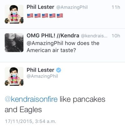 Dan and Phil Twitter Updates