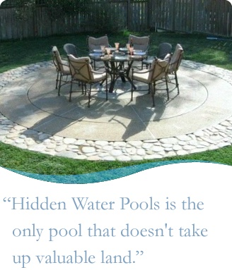 Best 25+ Hidden water pool ideas on Pinterest