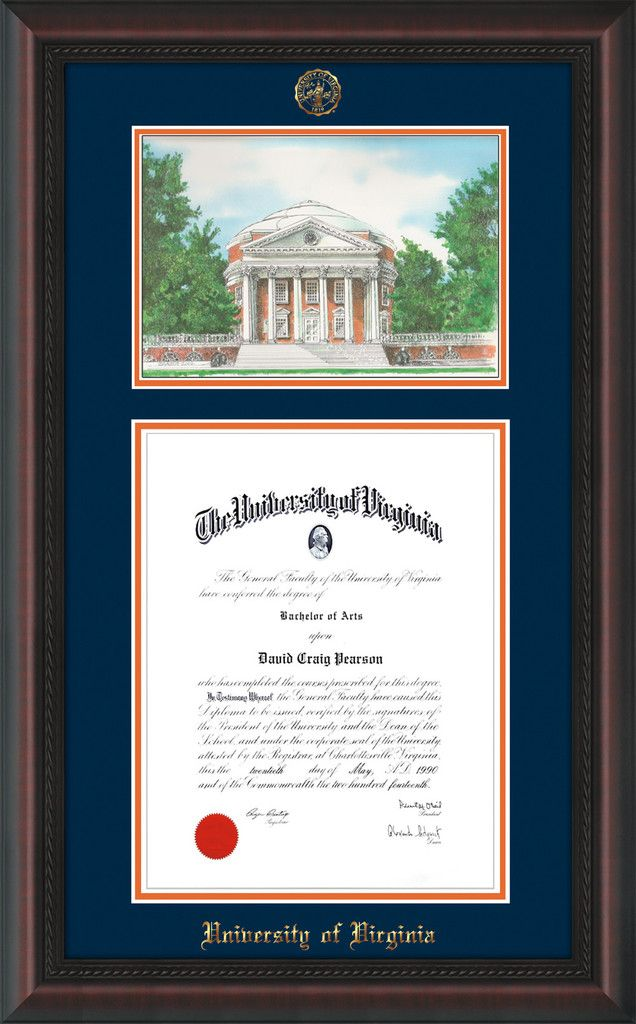 35 Best University Of Virginia Uva Diploma Frames