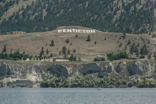 Penticton, BC Canada ♥ Loved and pinned by www.thatguyvanlines.com