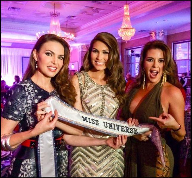 3 venezolanas ganadoras de la corona Miss Universo.