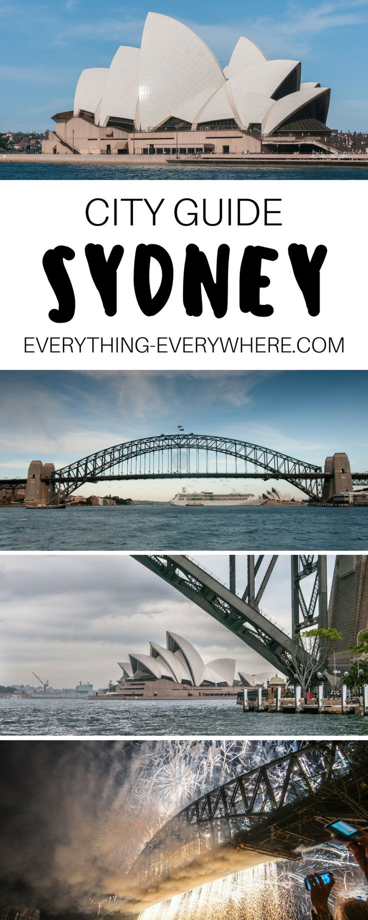 A complete guide to visiting Sydney, Australia. Things to do and see including the Sydney Opera House, Harbour Bridge, Luna Park, Manly Beach + best Sydney food and cuisine and other practical tips for your trip.   Everything Everywhere Destination Guide#Sydney #Australia