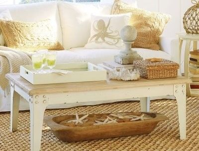 By including a tray on your coffee table, it adds another layer of intrigue. - 32 Best Images About Coffee Table Decor On Pinterest Provence