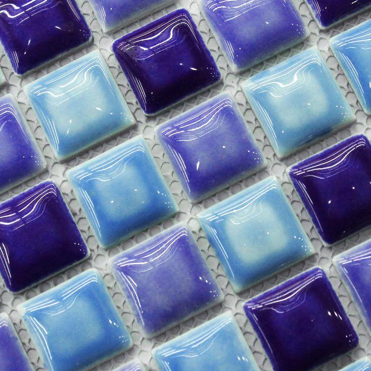 Cheap blu cucina mosaico backsplash piastrelle smaltate porcellanato bagno doccia pareti a specchio piastrelle 1 x 1 quadrato maglia 12 x 12 foglio, Compro Qualità Mosaici direttamente da fornitori della Cina: grazie per la visita del nostro sito . siamo un professionista mattonelle di mosaico produttore . noi abbiamo la nostra