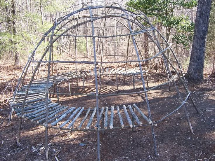Building A wigwam | Eastern Woodland Camp-Wigwam Build-Along in Camp & Shelter Forum