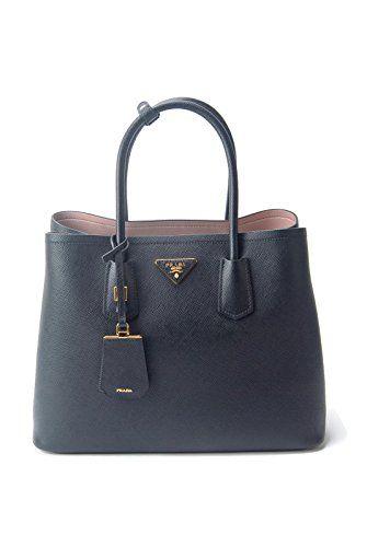725f08d3b66e Prada Women's Black Leather Solid Handbag Shoulder Bag   Prada Handbags    Pinterest   Prada, Bags and Shoulder Bag
