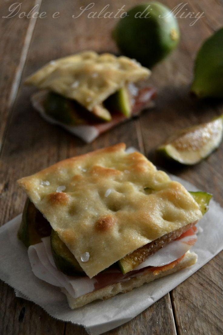 ricetta pizza bianca con prosciutto e fichi  Dolce e Salato di Miky
