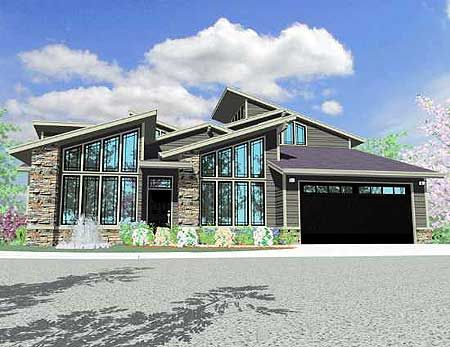 ElevationPlans Codes, Home Plans, Dreams Home, Contemporarymodern House, Codes Dhsw66880, Contemporary House, Future House, 2662 Squares, House Plans