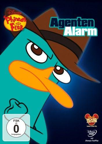 DVD Phineas und Ferb - Agenten Alarm
