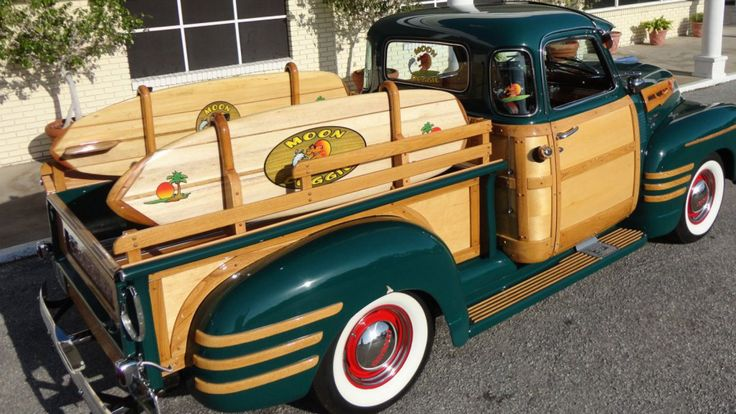 1950 Chevy Woody Pickup