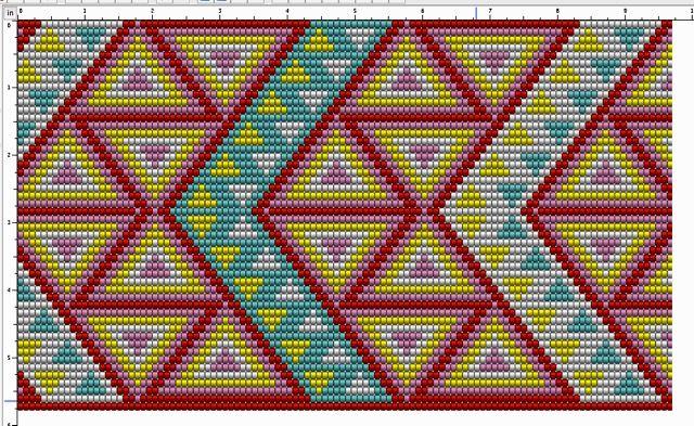 모칠라 백 패턴