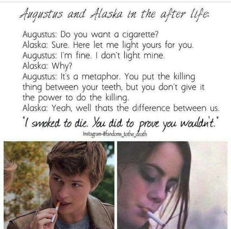 Spoilers....TFIOS and Looking for Alaska