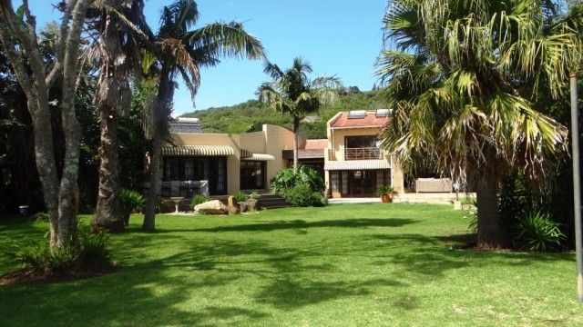 Exquisite, large family home with large grounds, pool and deck and private access to the Gonubie River!