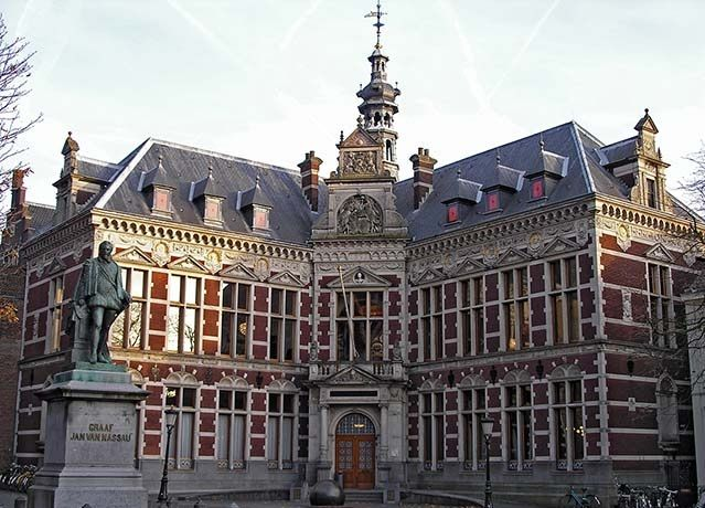 "This one of the biggest university of Europe situated in Utrecht, Netherlands. Founded in 1636, enrolled 29,082 students in 2008. Up to 2004 it has awarded 358 Ph.D. degrees. The university's motto is ""Sun of Justice, shine upon us."