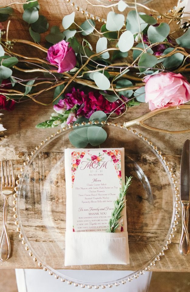 rustic chic table decor ideas - Table Decor
