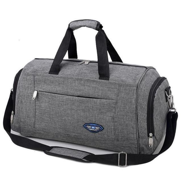Sports Gym Bag Male Canvas Travel Bag Large Capacity for Women Men Sport Shoulder Bag Handbag Outdoor