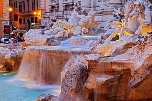 fountains.