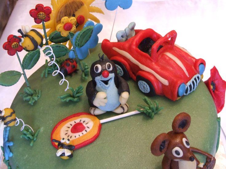 Birthday cake-The little mole
