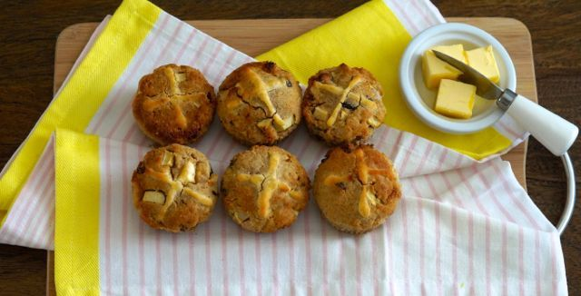 The Best Paleo Hot Cross Buns Recipe.