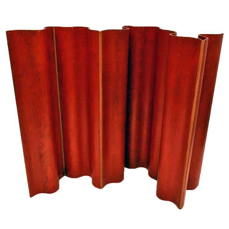 Early and Rare Folding Screen by Charles and Ray Eames