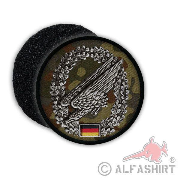 Fallschirmjäger Barettabzeichen - Aufnäher/Patch jetzt auf alfashirt.de  #fallschirmjäger#bw#bundeswehr#militär#adler#deutschland#dienst#falli#fallschirm#jäger#abzeichen#patch#aufnäher