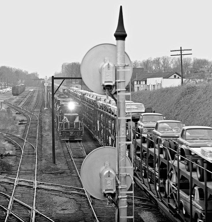 67 Best Old Railroad Auto Racks Images On Pinterest
