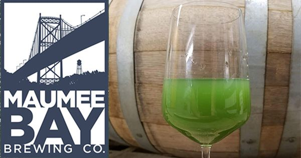 #gettappedin Lake Erie Algae Crisis Inspires Ohio Brewery's Green Beer