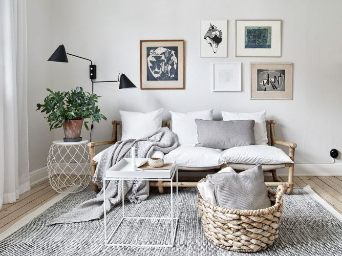 3 tjusiga compact living-lägenheter i 3 olika stilar