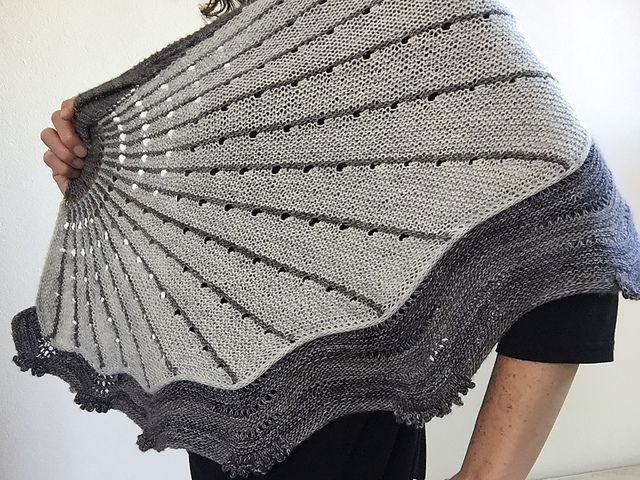 Ravelry: sannie's The Doodler: Westknits Mystery Shawl KAL 2015