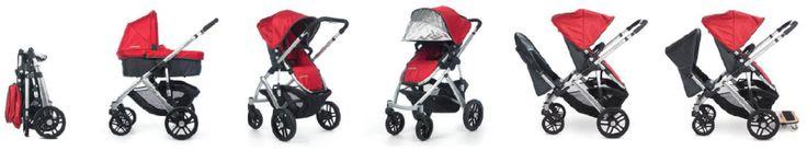 Best All in One Stroller System & Car Seat - VISTA | UPPAbaby Strollers $730 (Rumble Seat & Piggy Back not included)