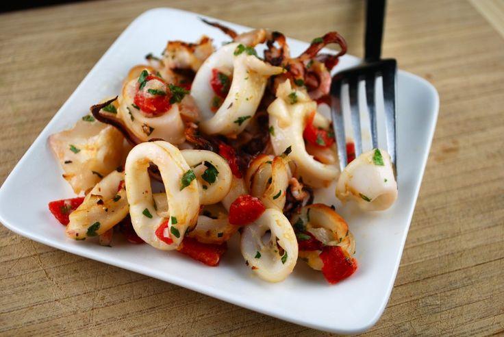 broiled calamari
