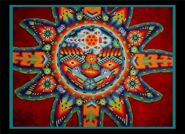 Мексиканский костюм орнамент