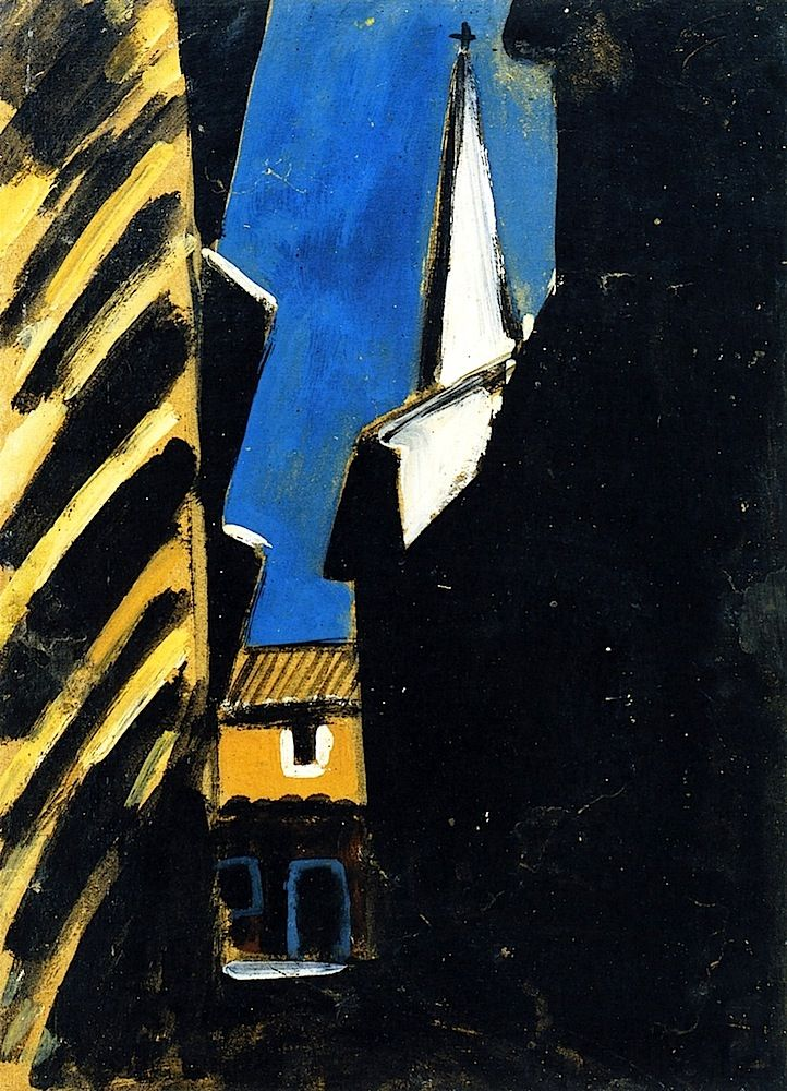 Village Street Auguste Chabaud - 1909 ~Via Niels Hiort