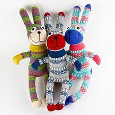 Ручной работы DIY мягкие очаровательны носок кролик банни детские ребенка показать игрушки подарки на день рождения рождество новый год мягкие животные куклы купить на AliExpress