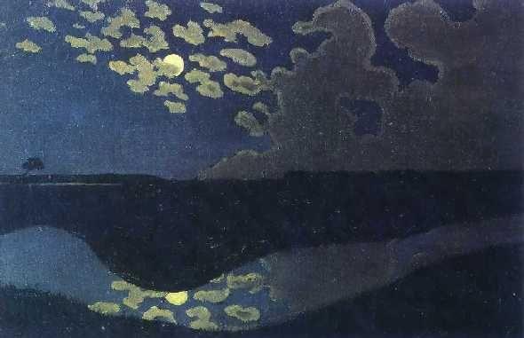 フェリックス・ヴァロットン 月の光