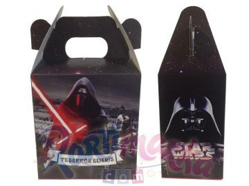 Star Wars Doğum Günü Hediye Dağıtma Çantası