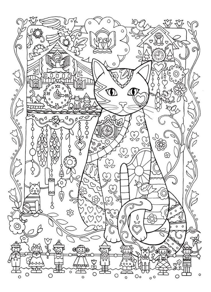 die besten 17 ideen zu ausmalbilder katzen auf pinterest chat kostenlos malvorlage katze und. Black Bedroom Furniture Sets. Home Design Ideas
