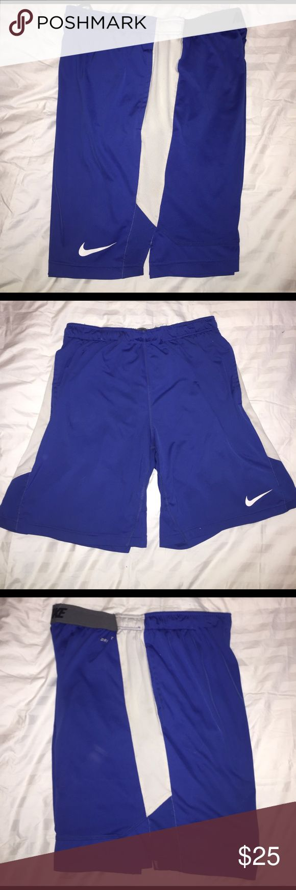 Men's Nike dri-fit shorts Men's shorts - gently used no rips /stains - smoke free home. Nike Shorts Athletic