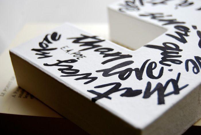 Lettere personalizzate: frasi del cuore o citazioni scritte a mano. #calligrafia #lettere #LettersLoveLife #personalizzato #regalo #sanvalentino #battesimo #anniversario #compleanno