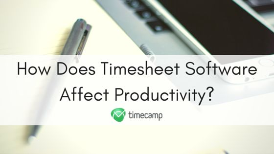 How Does Timesheet Software Affect Productivity?