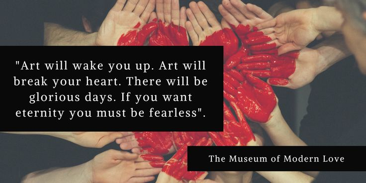 Book Quote - The Museum of Modern Love by Heather Rose. Read our book review of this award winning literary novel.