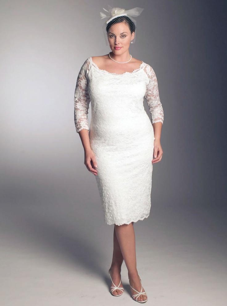 25 best Voluptuous brides images on Pinterest Wedding dressses